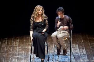 Elisabetta Branchetti con Luca Gonfiantini